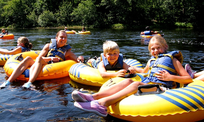 blue mountain cabins river tubing family activity smoky mountains
