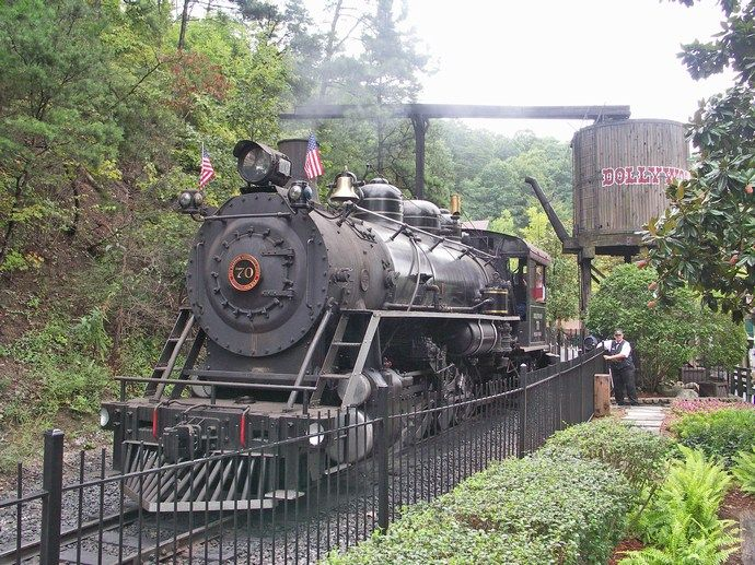 dollywood historic trains locomotives # 70
