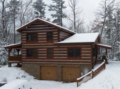 Appalachian Escape cabin Rent winter weeknights from $139